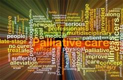 Paliative Care and related words as collage