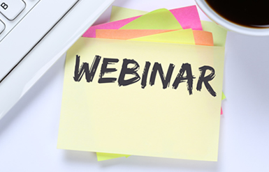Webinar on sticky notes