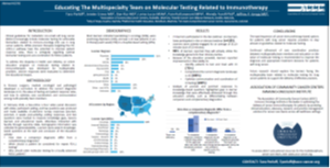 Educating The Multispecialty Team abstract