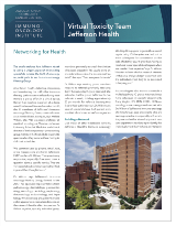 virtual toxicity team practice spotlights jefferson health thumbnail