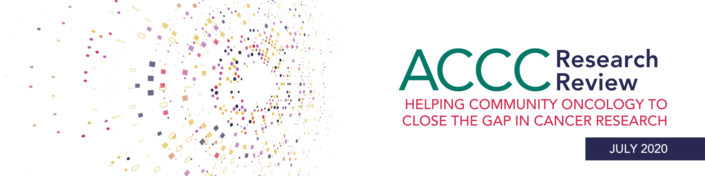 ACCC Research Review Banner: July 2020