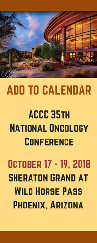 ACCC 35th National Oncology Conference