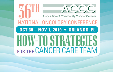 ACCC | Association of Community Cancer Centers