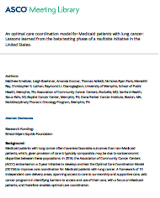 An optimal care coordination model for Medicaid patients with lung cancer_ Lessons learned from the beta testing phase of a multisite initiative
