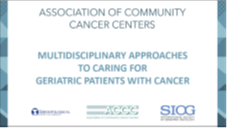 Geriatric Patients with Cancer