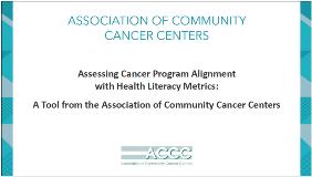 Assessing Cancer Program Alignment