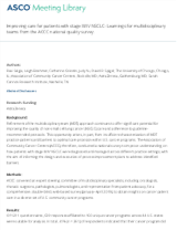 Improving care for patients with stage III_IV NSCLC_ Learnings for multidisciplinary teams from the ACCC national quality survey